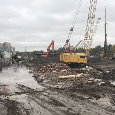 Приморский квартал, ход строительства